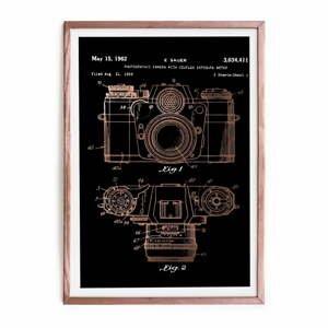 Zarámovaný plagát Really Nice Things Camera, 40×60cm