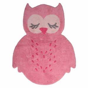 Detský ružový koberec Nattiot Sweet Pepa, 95×120 cm