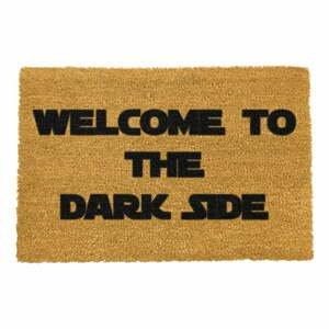 Rohožka z prírodného kokosového vlákna Artsy Doormats Welcome to the Darkside, 40 x 60 cm