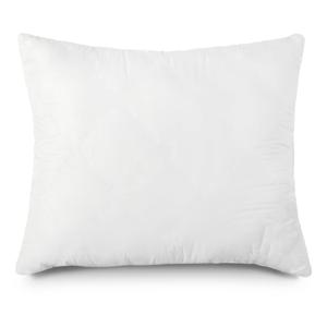Biely vankúš s dutými vláknami Sleeptime Elisabeth, 60×70 cm