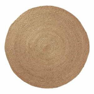 Prírodný jutový koberec Dip, ⌀100cm