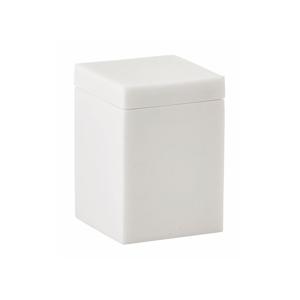 Biely úložný box na kozmetiku Aquanova Moon