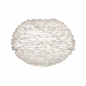 Biele tienidlo z husieho peria VITA Copenhagen EOS, ⌀ 65cm