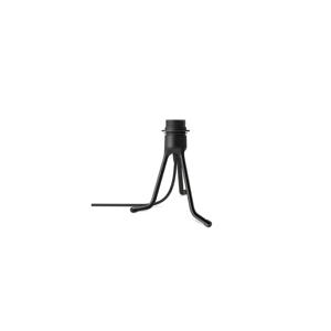 Čierny polohovací stojan tripod na svietidlá VITA Copenhagen, výška 18,5 cm