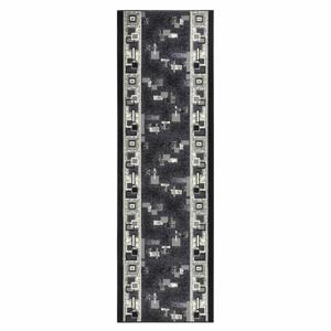 Koberec Basic Retro, 80x200 cm, sivý