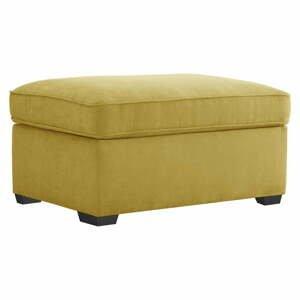 Žltý puf s úložným priestorom Jalouse Maison Serena