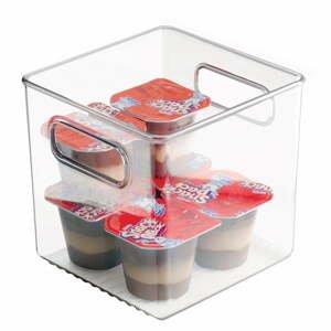 Úložný box do chladničky iDesign Fridge Pantry, 15×15cm