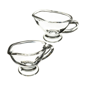 Sada 2 sklenených misiek na omáčku Kitchen Craft Master Glass, 40 ml