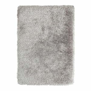Sivý ručne tuftovaný koberec Think Rugs Montana Puro Silver, 80×150 cm