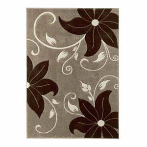 Béžovo-hnedý koberec Think Rugs Verona, 80×150cm