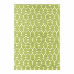 Zelený vonkajší koberec Floorita Trellis, 160×230 cm