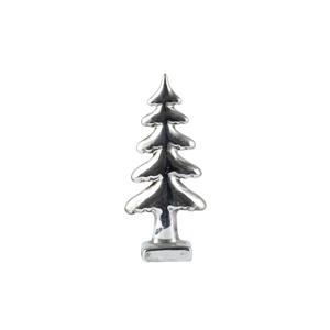Dekoratívny stromček KJCollection Silver, výška 18 cm