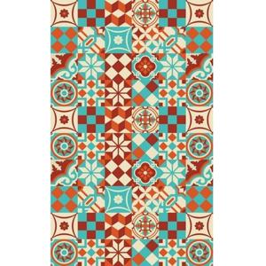Vinylový koberec Huella Déco Colorido 196×133cm