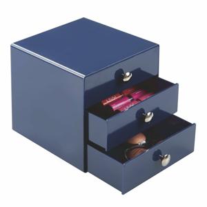Modré zásuvky InterDesign