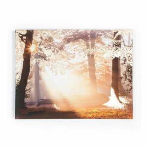Obraz Graham & Brown Metallic Forest, 80×60 cm