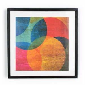 Obraz Graham&Brown Neon Circle, 50×50cm