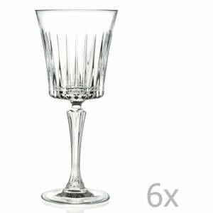 Sada 6 pohárov na sekt RCR Cristalleria Italiana Bice, 230ml