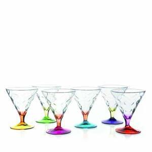 Sada 6 pohárikov na zmrzlinu RCR Cristalleria Italiana Norma