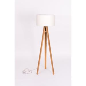 Biela stojacia lampa Ragaba