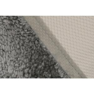 Sivá predložka do kúpeľne Confetti Miami, 50×57cm