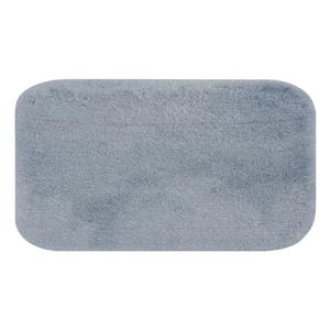 Modrá predložka do kúpeľne Confetti Miami, 57×100 cm