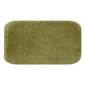 Zelená predložka do kúpeľne Confetti Miami, 57×100cm