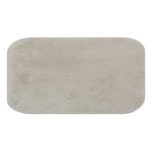 Krémovobiela podložka do kúpeľne Confetti Miami,67×120 cm