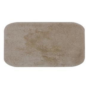 Svetlobéžová predložka do kúpeľne Confetti Miami, 67×120cm
