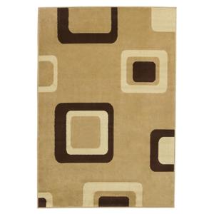 Béžový koberec Think Rugs Diamond, 160×220cm