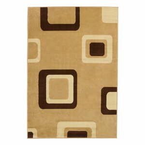 Béžový koberec Think Rugs Diamond, 67x225cm
