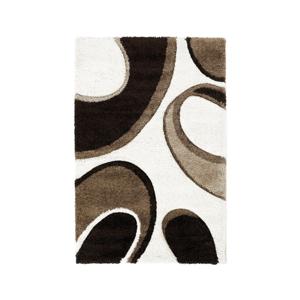 Hnedo-béžový koberec Think Rugs Fashion, 160×220cm