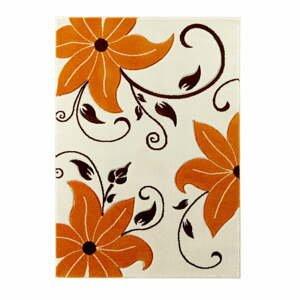Béžovo-oranžový koberec Think Rugs Verona, 60×120 cm