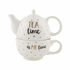 Kameninová kanvička s hrnčekom Sass & Belle Tea Time