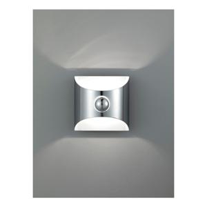 Strieborné nástenné svetlo Tomasucci Squarre