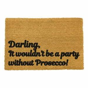 Rohožka z prírodného kokosového vlákna Artsy Doormats Darling Prosecco, 40 x 60 cm