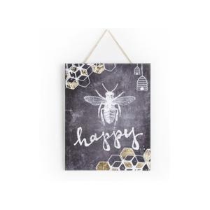 Obraz Graham&Brown Bee Happy, 40×50cm
