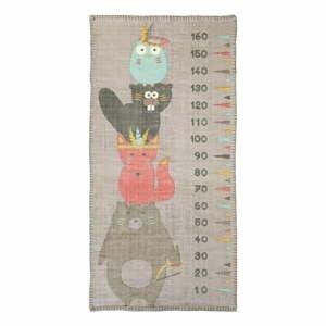Nástenný detský meter Nattiot Totem,80×170cm