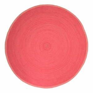 Detský ružový koberec Nattiot Tapis,Ø140cm