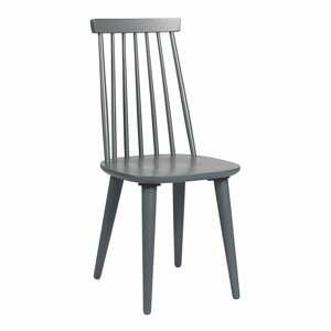 Tmavosivá dubová stolička Rowico Nymph
