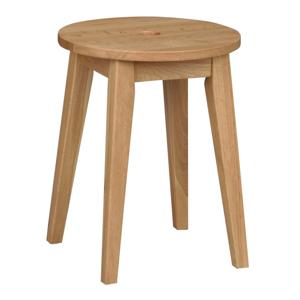 Prírodná dubová stolička Rowico Metro, výška 44 cm