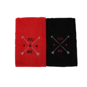 Sada 2 uterákov You&Me, 50 x 90 cm