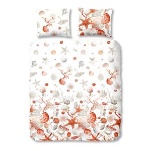 Obliečky na jednolôžko z bavlny Good Morning Premento Shells, 140×200 cm