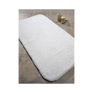Biela predložka do kúpeľne Confetti Bathmats Organic 2400, 50×70cm