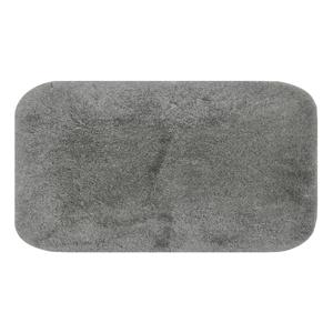 Sivá podložka do kúpeľne Confetti Miami, 80×140cm