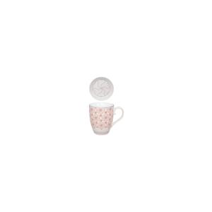 Hrnček so sitkom a tanierikom Tokyo Design Studio Mandarino, 380 ml