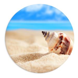 Keramický tanier Beach, ⌀ 25 cm
