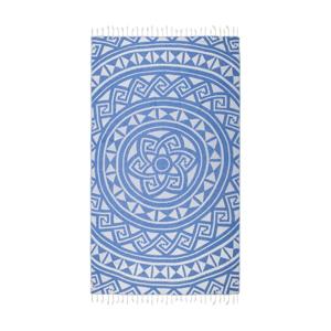 Modrá hammam osuška Kate Louise Mirabelle, 165×100cm
