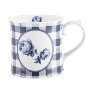 Porcelánový hrnček Creative Tops Gingham Floral, 400ml