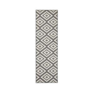 Sivo-biely behúň Hanse Home Jenny, 80×500 cm