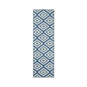 Modro-biely behúň Hanse Home Jenny, 80×450 cm